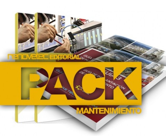 PACK LIBROS MANTENIMIENTO